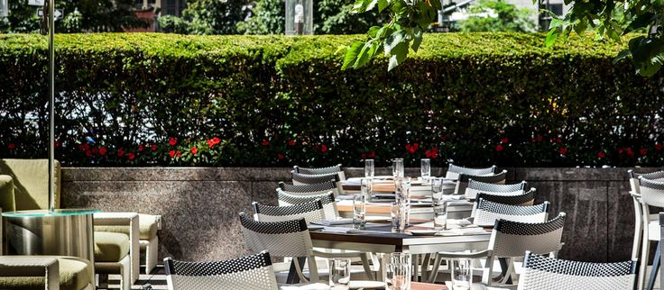 Jean-Georges & Nougatine at Jean-Georges | Jean-Georges Restaurants New York | Terrace at Jean-Georges
