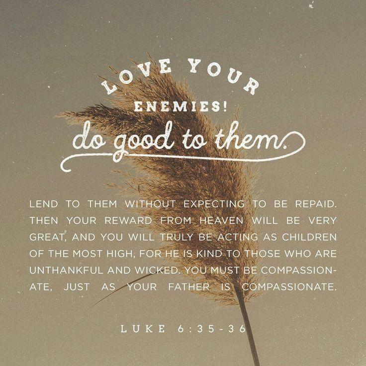 Luke 6:35~36