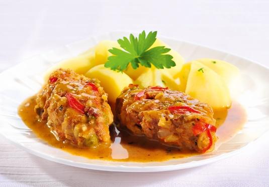 Jeżyki drobiowo-warzywne/ Chicken - vegetables hedgehogs, www.winiary.pl