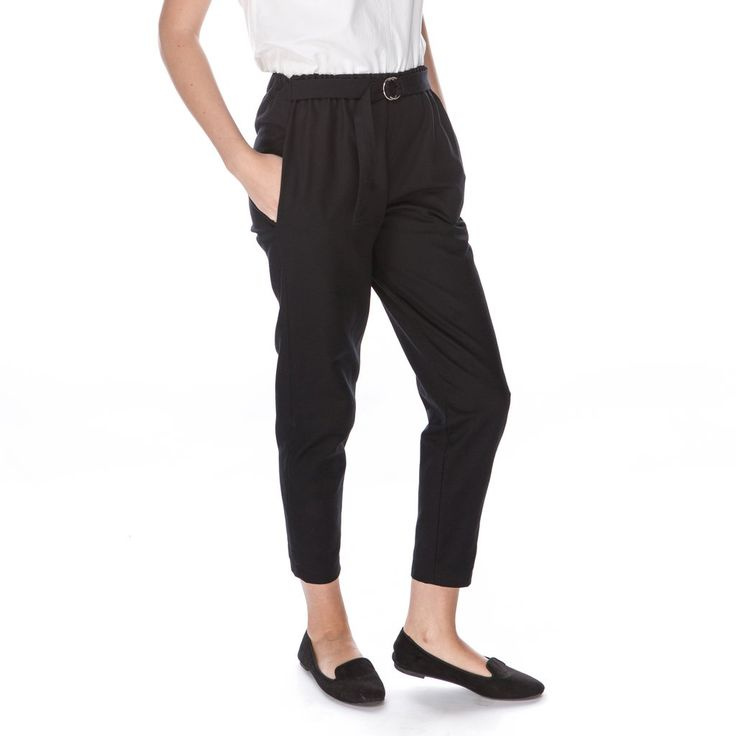 Easy belted pants - 100% GOTS certified organic cotton