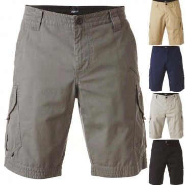 Fox Racing Slambozo Cargo Guys Shorts Casual Mens Walkshorts