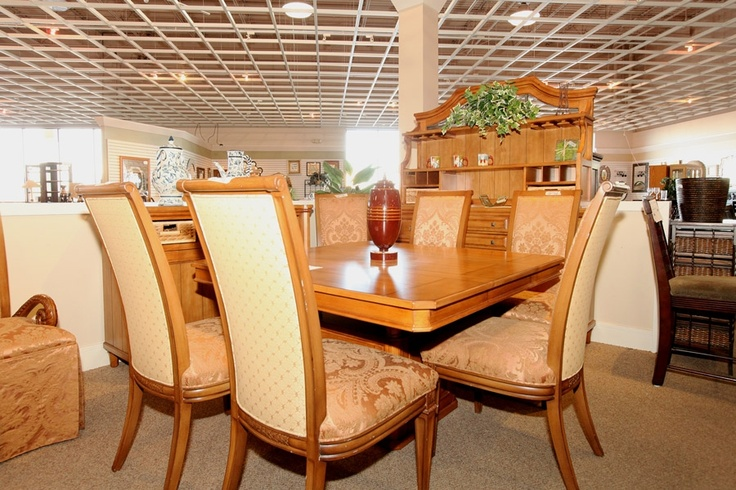 Dining Set Colleen 39 S Classic Consignment Las Vegas Divine Dining Rooms Kitchens