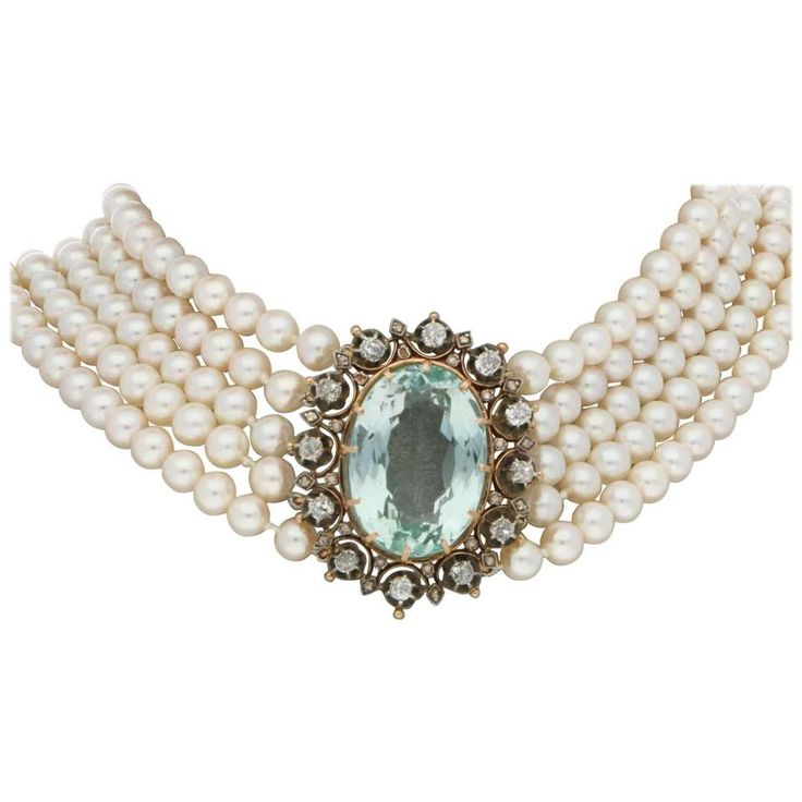 Vintage Pearl Choker Necklace: 17 Best Ideas About Antique Jewelry On Pinterest