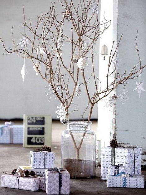北欧インテリア小さなクリスマスツリー