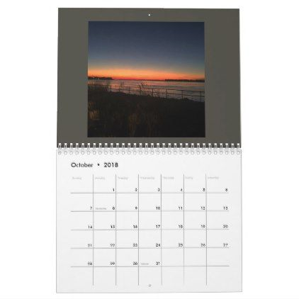 Sunrise sunset calendar - individual customized designs custom gift ideas diy