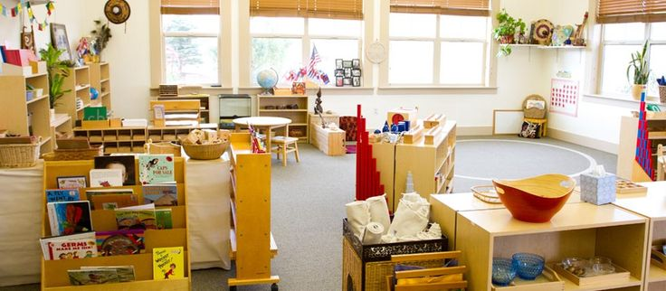 Aula Montessori en preescolar