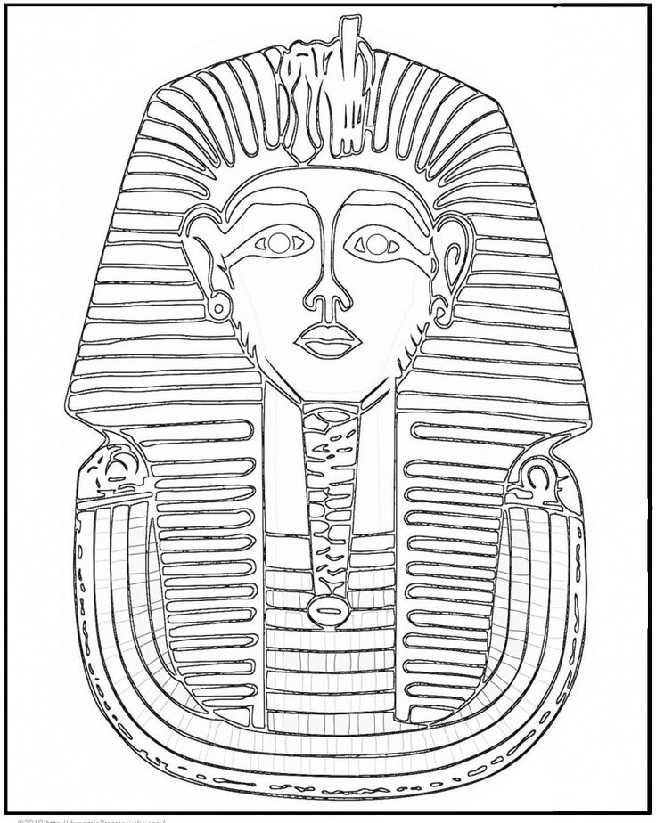 Ancient Egypt Coloring Page