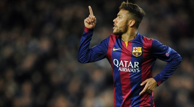 Neymar Barcelona Football
