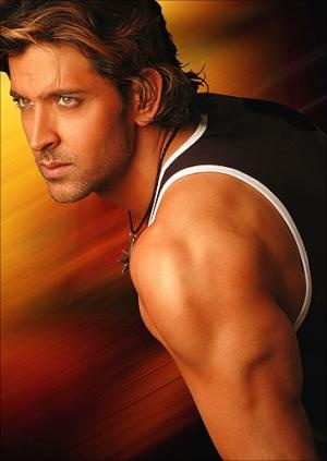 My favorite Bollywood actor, Hrithik Roshan.