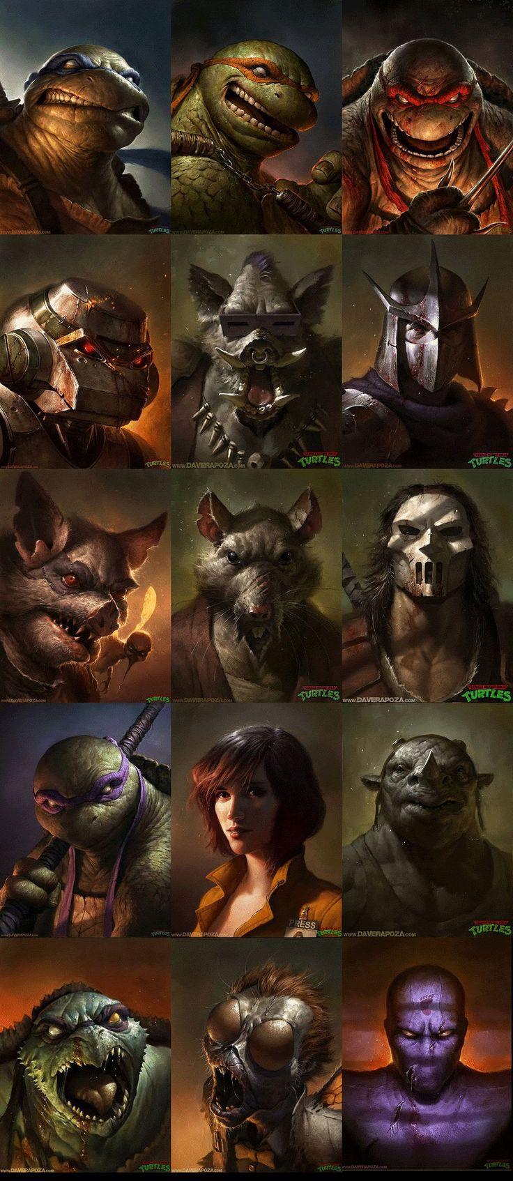 10 personnages de dessins animés qui prennent vie! Celui des Tortues Ninja est si réaliste!