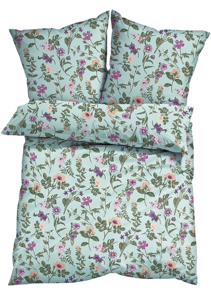 Biancheria da letto «Britt», Flanella Menta - bpc living è ordinabile nello shop on-line di bonprix.it da ? 24,99. Meravigliosa biancheria stampata che ...