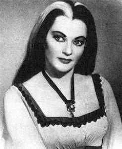 Lee Meriwether, Miss America 1955, in The Munsters Today