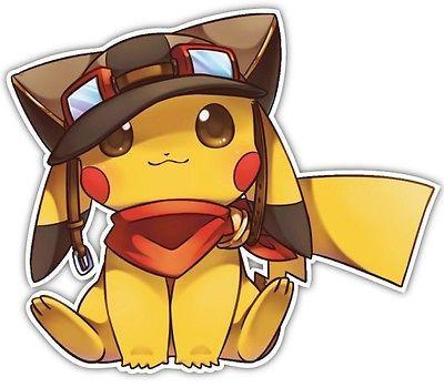 Pokemon Pikachu Anime janela do carro Decalque Adesivo De Vinil 030   Casa e jardim, Decoração para casa, Decalques, adesivos, artigos artísticos em vinil   eBay!