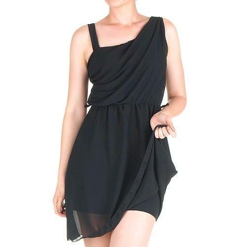 Vestido Corto Negro