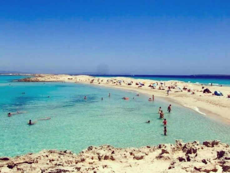 Formentera, Spain ... Where thousands of beautiful people come out to play in the turquoise blue water, powder white sand and Mediterranean sun .....   #formentera #spain #visitspain #turquoise #waters #whitesand #mediterraneansun #seasandsun #dreamtimesail #sailingspain and #sailingtheworld