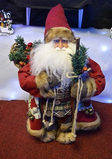 Large santa claus #figure christmas #ornament free standing #father xmas decorati,  View more on the LINK: http://www.zeppy.io/product/gb/2/162227481294/