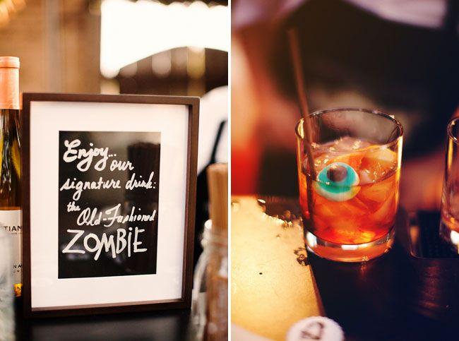 zombie eyeball wedding drink: Zombie Eyeball, Glass, Zombie Drink, Eyeball Drink