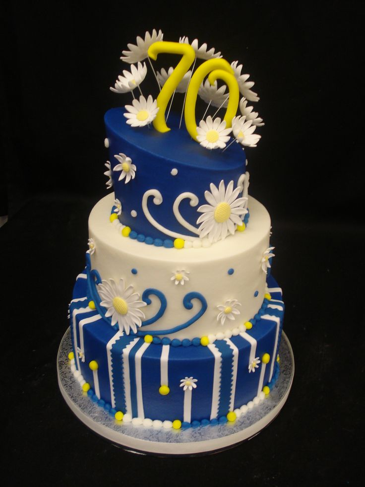 122 Best Images About Cakes 70th Birthday On Pinterest