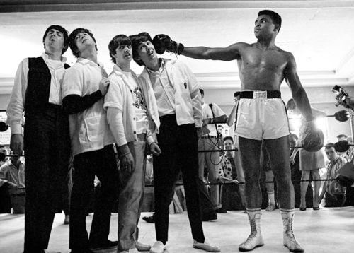 Muhammad Ali and The Beatles c.1964