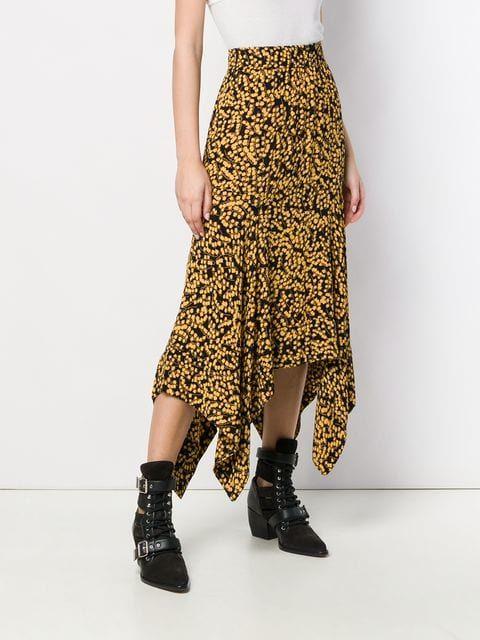 79a4eb7ab336 Ganni Floral Print Skirt in 2019 | Fashion Favorites | Floral print ...