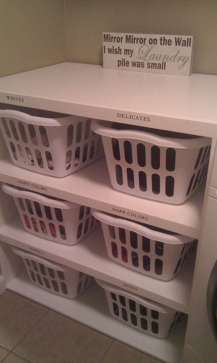 Best 25 Laundry Sorting Ideas On Pinterest Laundry Room