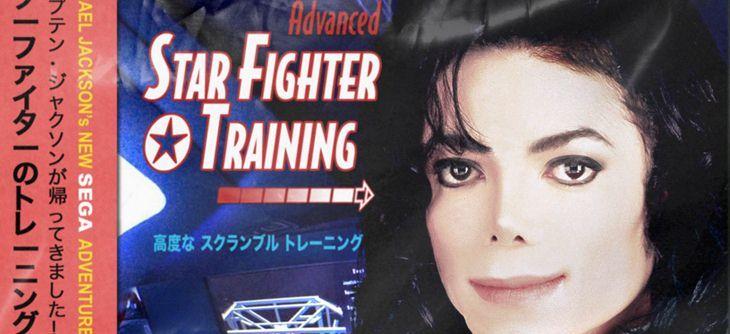 Un mystérieux inédit Star Fighter Training starring Michael Jackson sur Sega Mega CD déboule de nulle part
