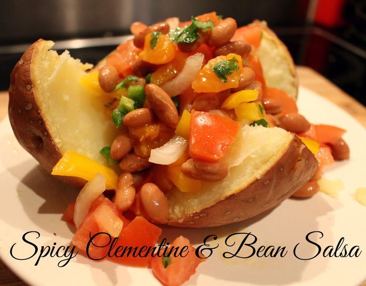Spicy Clementine & Bean Salsa cover