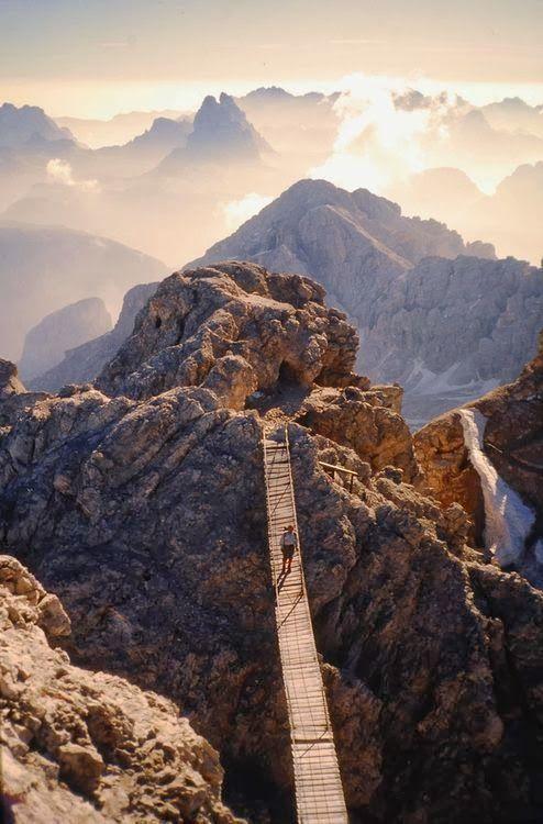 Monte Cristallo, Dolomites of Trentino, Italy: