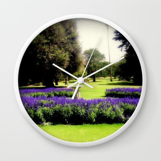 Botanical Garden Wall Clock