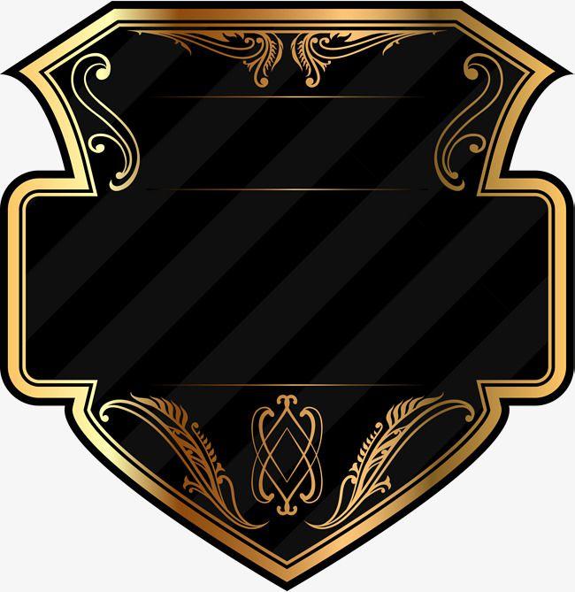 Geometric Gold Badge Geometry Golden Badge Png Transparent Clipart Image And Psd File For Free Download Photo Logo Design Logo Illustration Design Logo Design Art