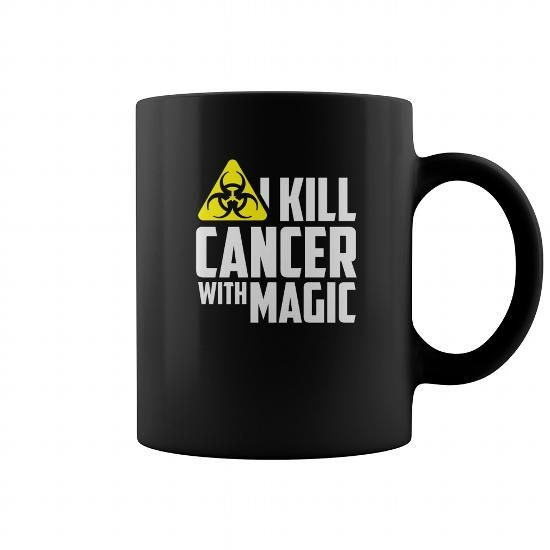 Radiation Therapist  I kill cancer with magic  Cancer mug, coffee mug, funny coffee mugs, coffee mug funny, mug gift, #mugs #ideas #gift #mugcoffee #coolmug