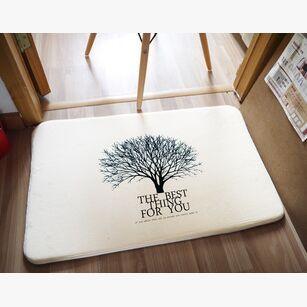 Design exclusivo casa de estilo japonês e coreano acessórios Coral tapetes de lã tapete tapete quarto alishoppbrasil