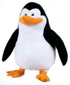 Λούτρινα 42εκ. Πιγκουίνοι της Μαδαγασκάρης (4σχεδ.)