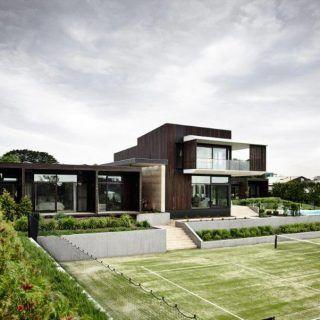 Wolveridge, Portsea rammed earth project
