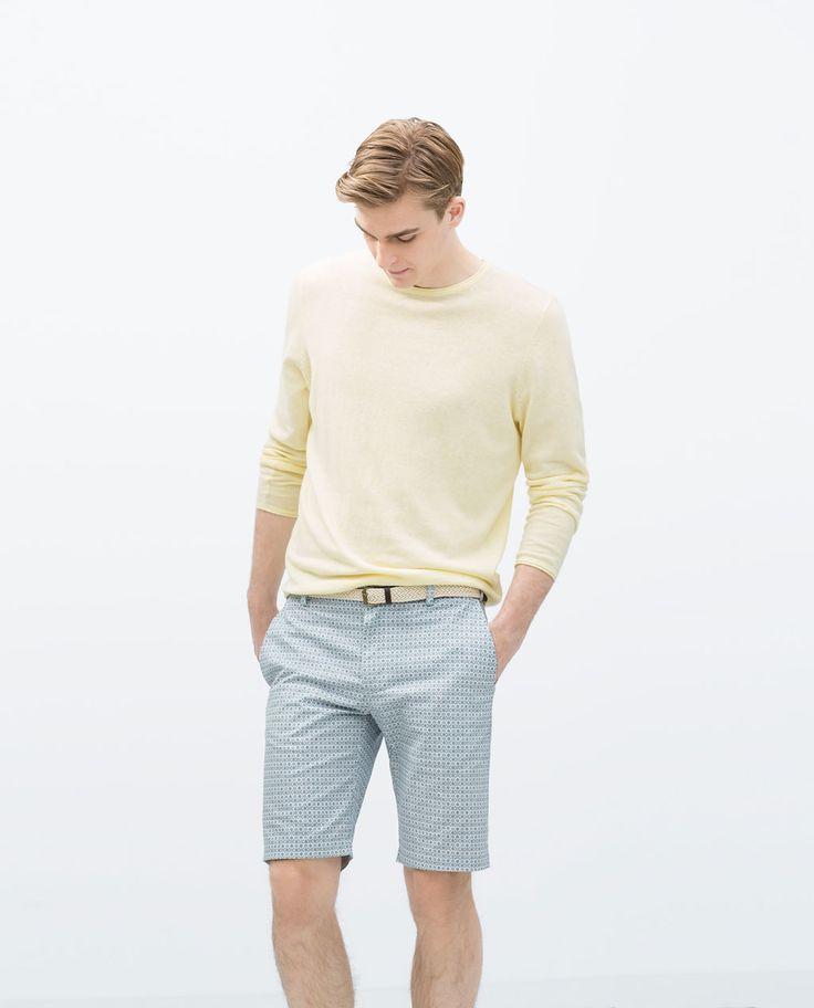 ZARA - MAN - Colored Bermuda shorts