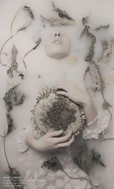 """""""Secret Garden"""" by Bartosz Slevinaaron #inwater #portrait"""