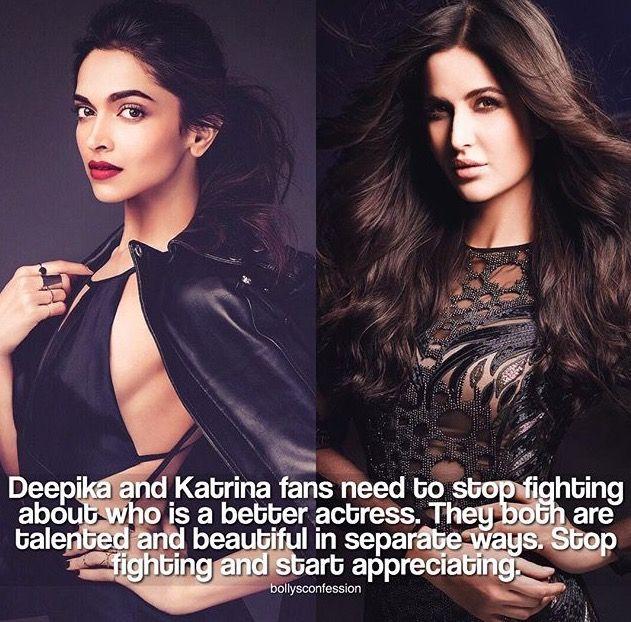 Deepika Padukone & Katrina Kaif