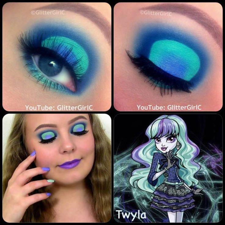 Monster High Twyla makeup