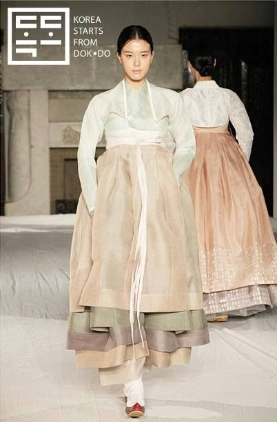 super clean and minimal hanbok- inspiration for modern korean wedding dress- mostly for the lines and feel of the dress- not necessarily the color... although gorgeous for the fall! <3