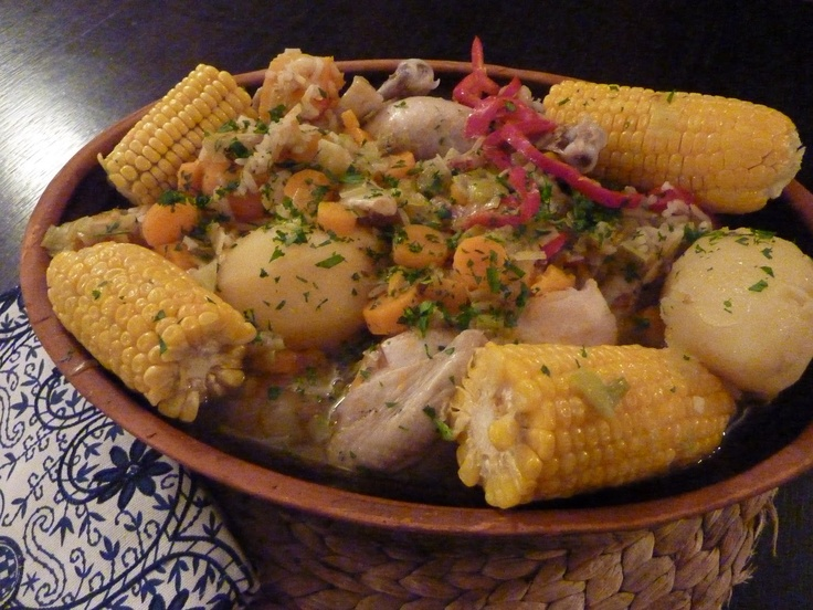Platos típicos Chilenos: Cazuela de Ave