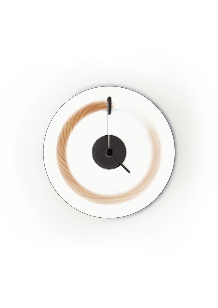 Kuluma // a clock that marks time by Studio Woy