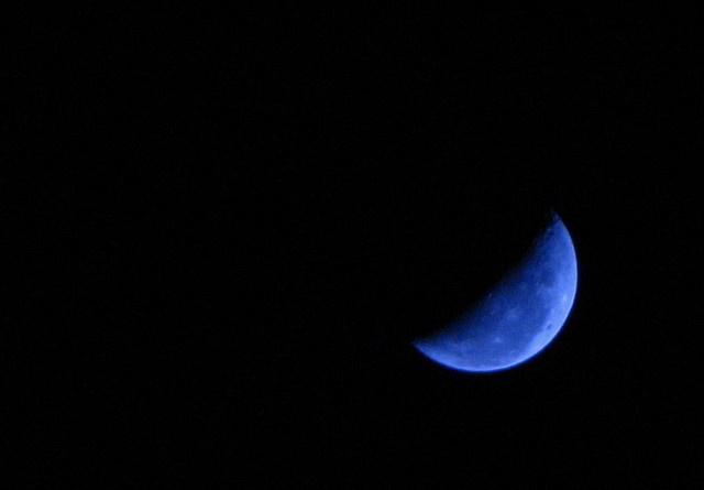 Blue moon rising lyrics