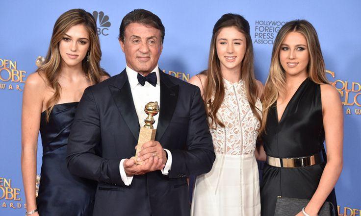 Las hijas de Sylvester Stallone siguen eclipsando a su padre con su belleza, ¡ahora son Miss Golden Globe!