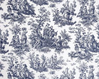 Drapery Fabric Upholstery Fabric Baby Fabric by TheFrenchPillow