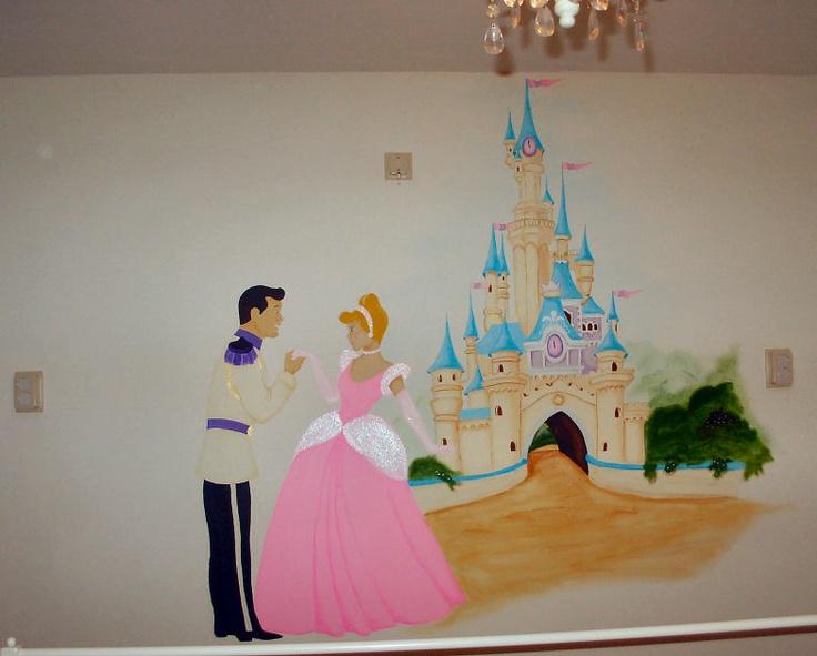 De muurschildering op Noa's oude slaapkamer.
