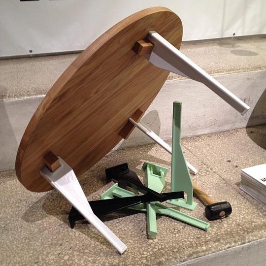 Keel Table by Oscar Magnus  I Saloni 2013