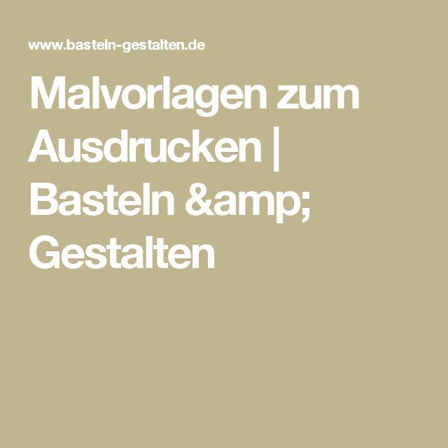 17 best ideas about Malvorlagen Zum Ausdrucken on Pinterest ...