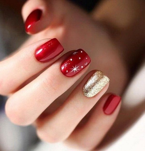 Christmas 2020 Nail Colors 65+ Best Christmas Nail Art Ideas for 2020   For Creative Juice