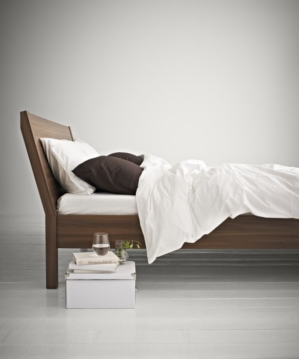 Nyvoll the angled headboard allows you to sit comfortably when reading in bed - Headboard or no headboard ...