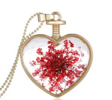 Dámský moderni náhrdelník s přivěskem srdce květiny – dámské náhrdelníky Na tento produkt se vztahuje nejen zajímavá sleva, ale také poštovné zdarma! Využij této výhodné nabídky a ušetři na poštovném, stejně jako to udělalo již …